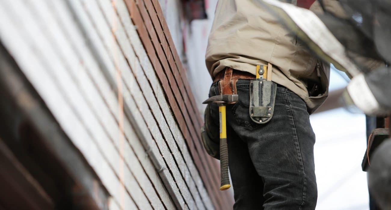 Schwarzarbeit Baustelle Bauarbeiter Werkzeug Wirtschaft Zoll