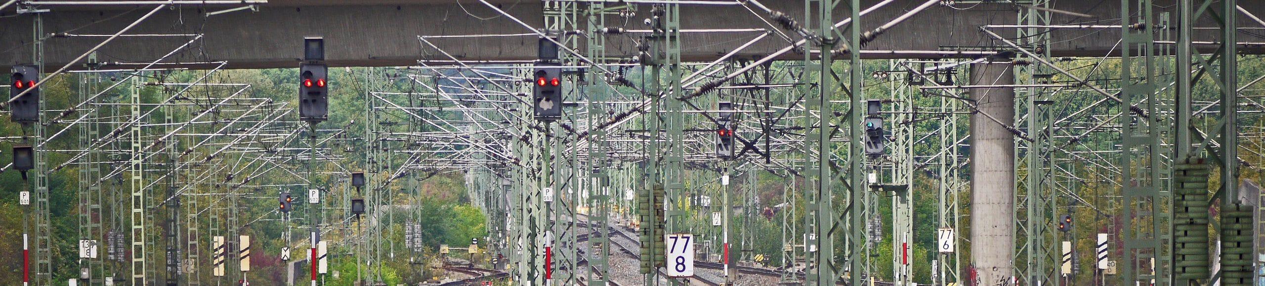 Verkehr Elektrifizierung Zug