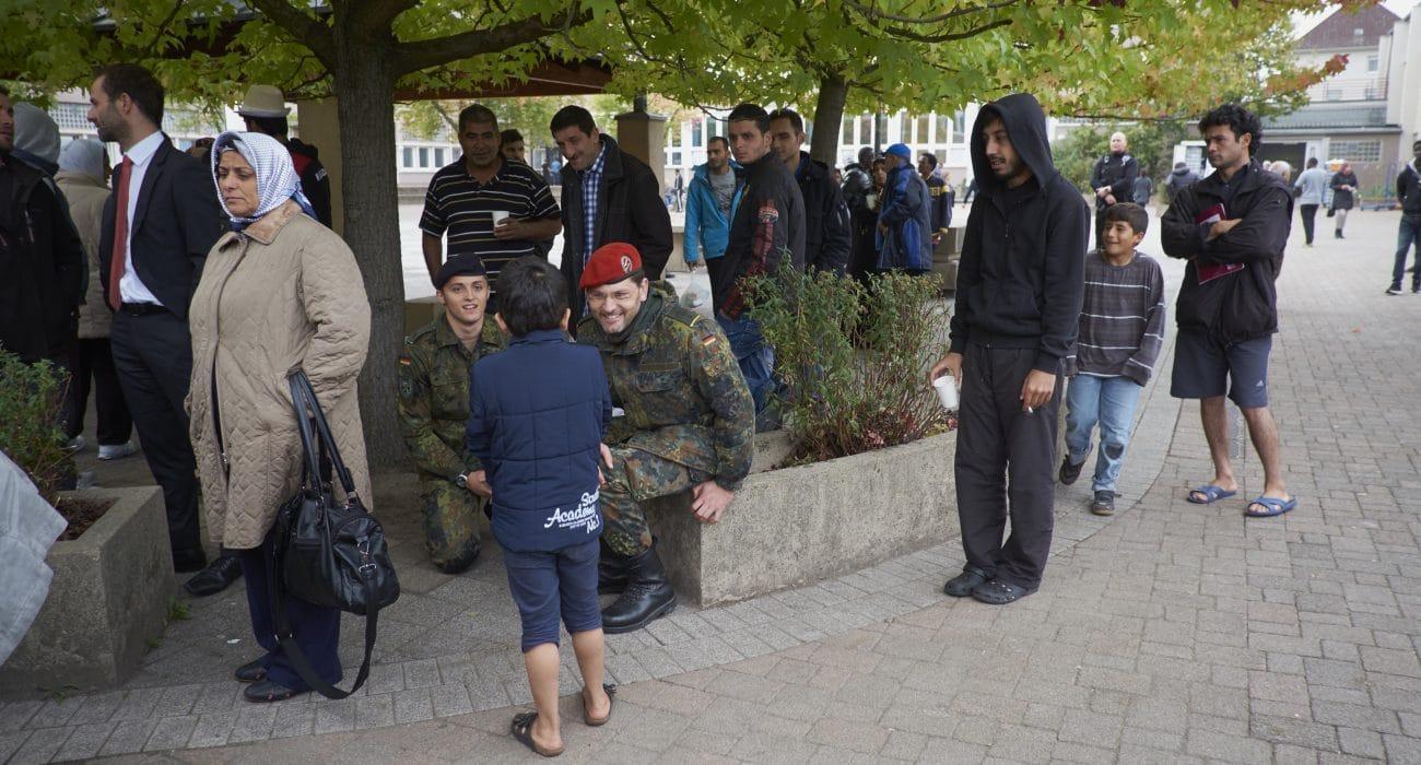 Integration Bundeswehr Flüchtlinge