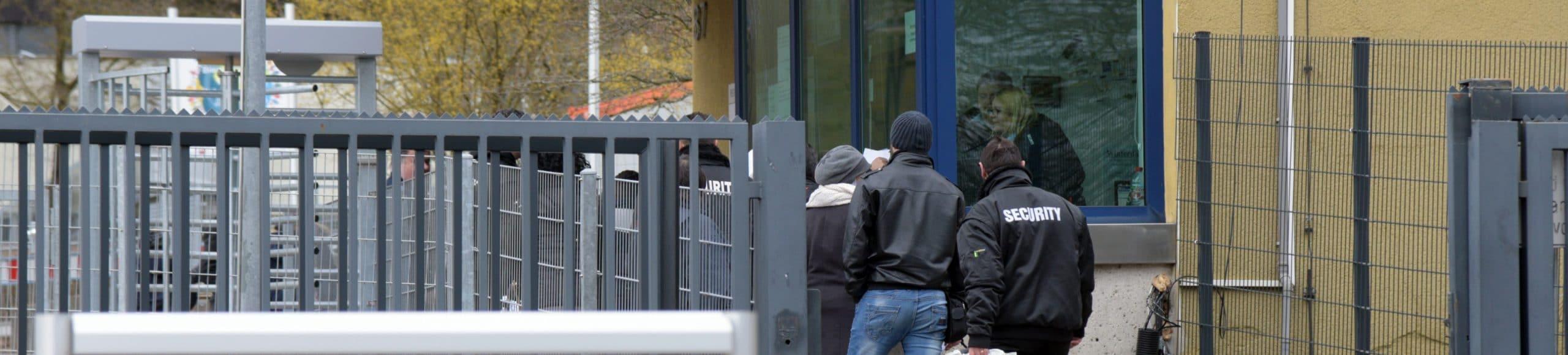 Innere Sicherheit Flüchtlingsunterkunft Ellwangen