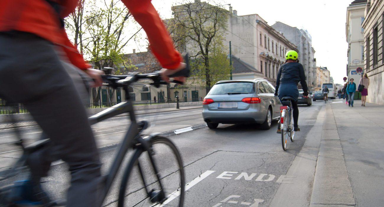Verkehr Fahrrad Radweg