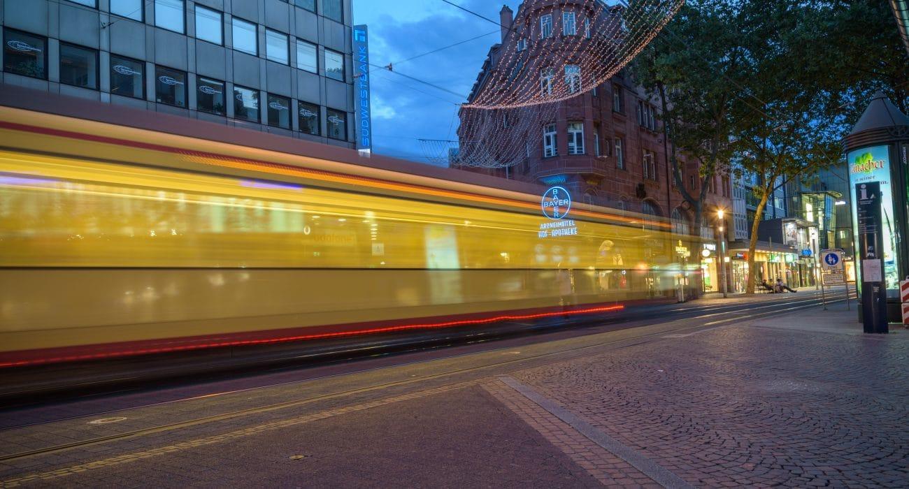 ÖPNV Verkehr Straßenbahn