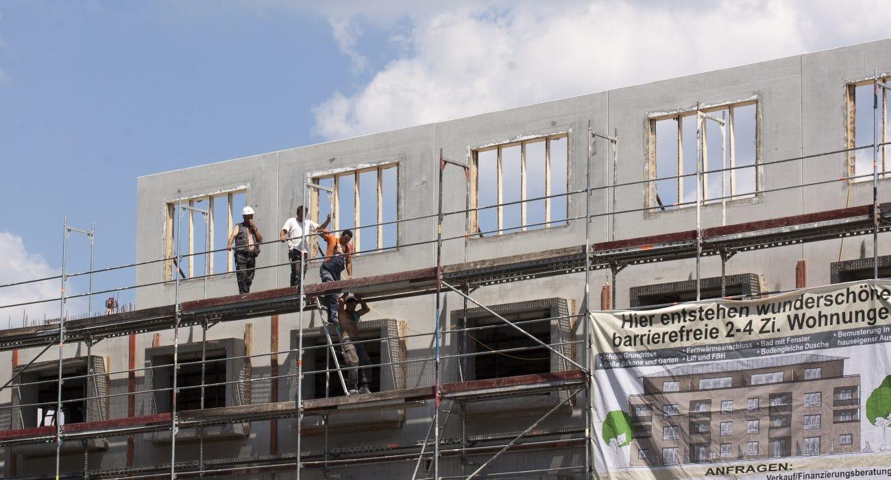 Wohnungsbau barrierefrei