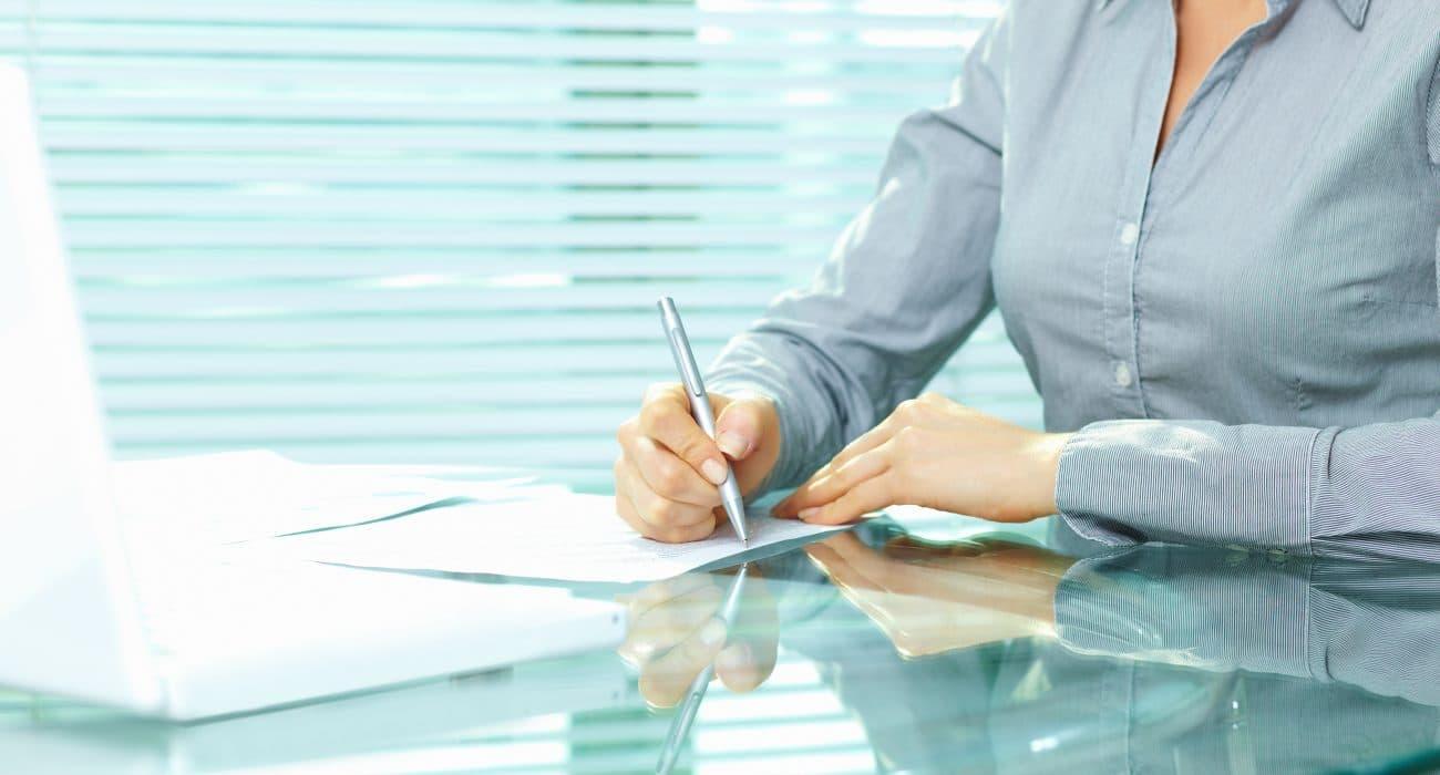 Arbeit Frau Büro Beamte