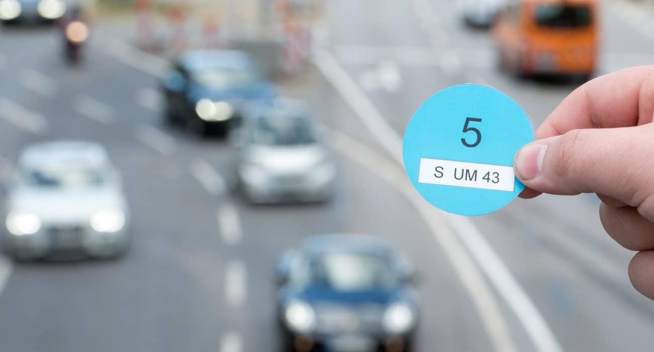 Verkehr Umwelt Auto