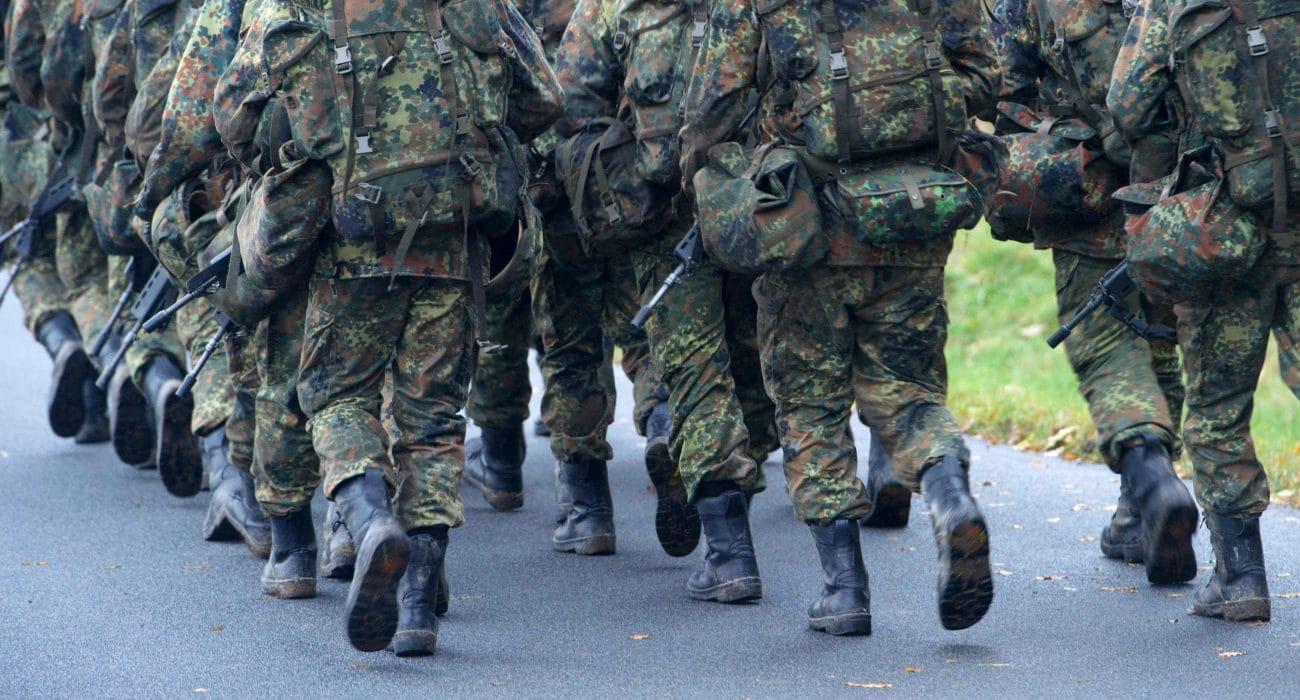 Innere Sicherheit Bundeswehr Soldaten