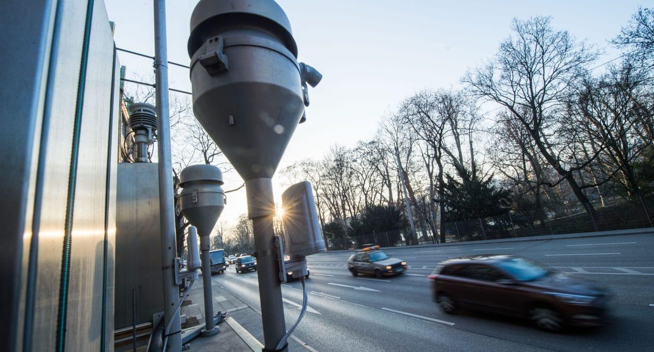 Umwelt Verkehr Feinstaub Neckartor