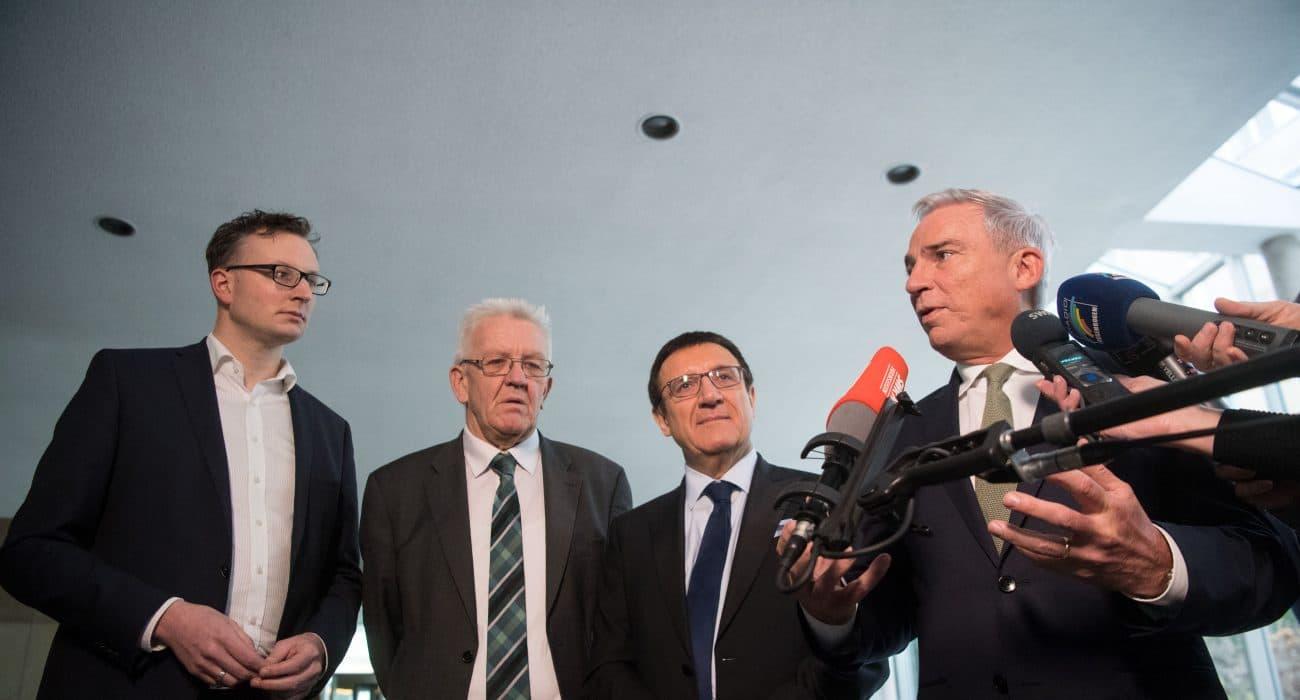 Koalitionsausschuss Grün Schwarz Grüne CDU