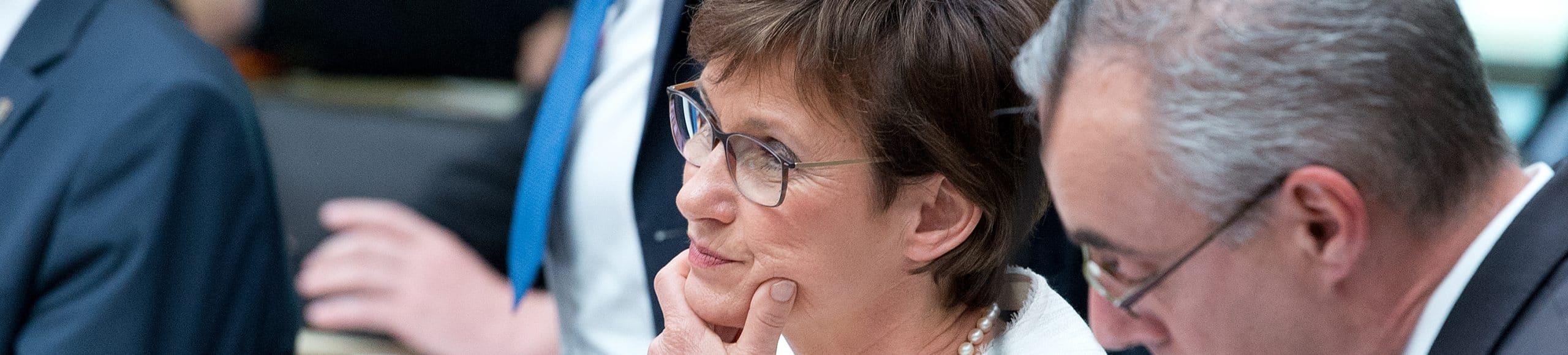 Recht und Verfassung Sabine  Kurtz Landtagsvizepräsidentin Wahl
