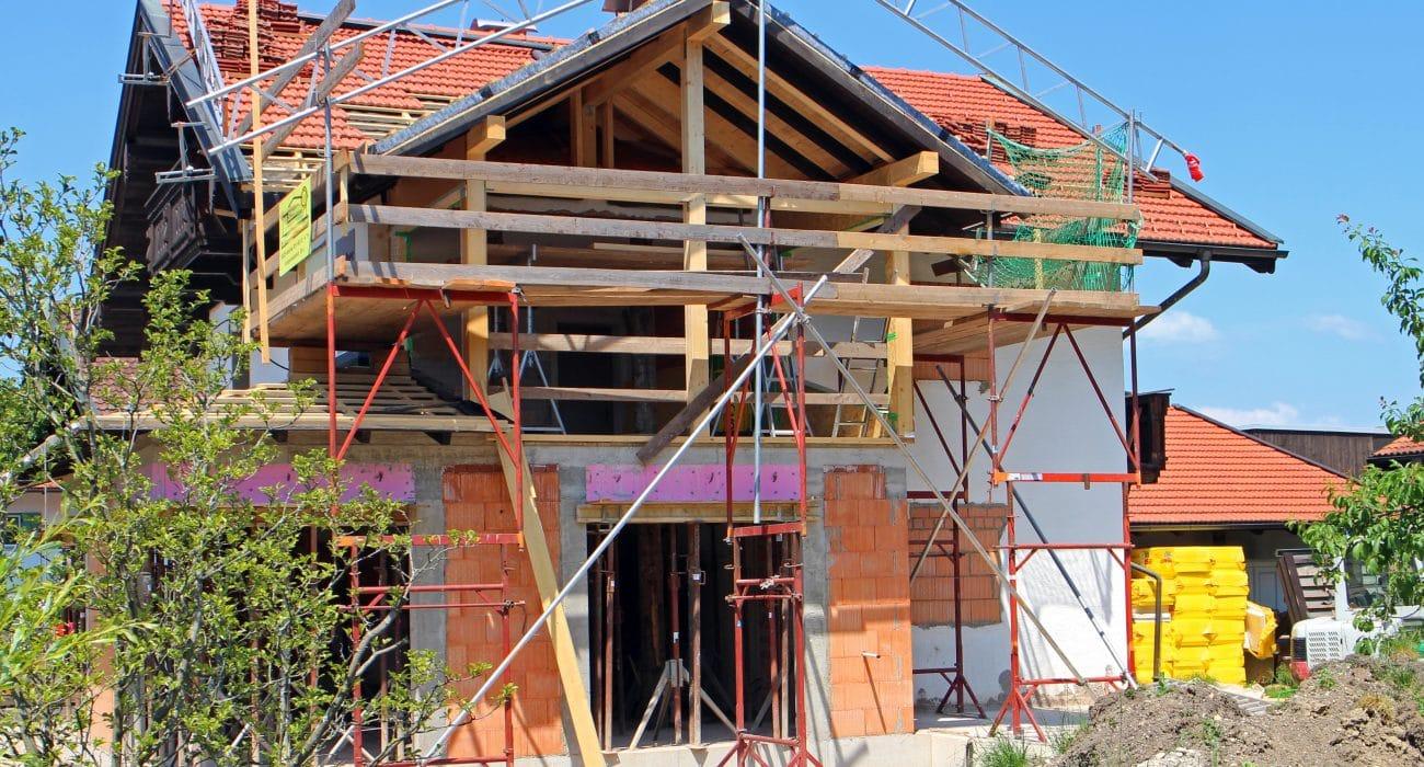 Wohnungsbau Bau